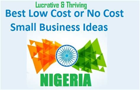 Small Home Business Ideas In Nigeria Lucrative Business Ideas Thriving Business That