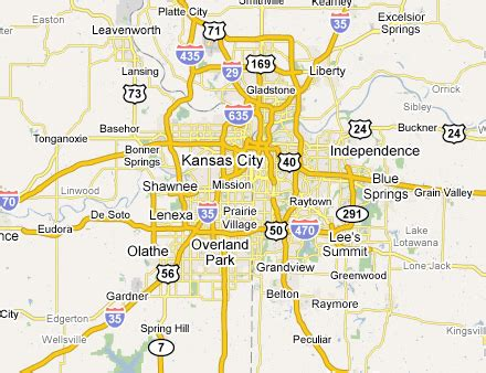 map of kc area pictures to pin on pinsdaddy