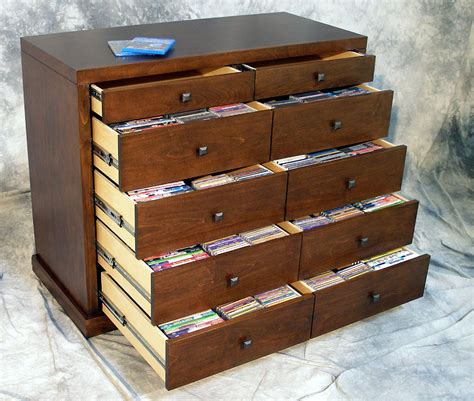 cd dvd storage cabinet cool cd storage drawers homesfeed