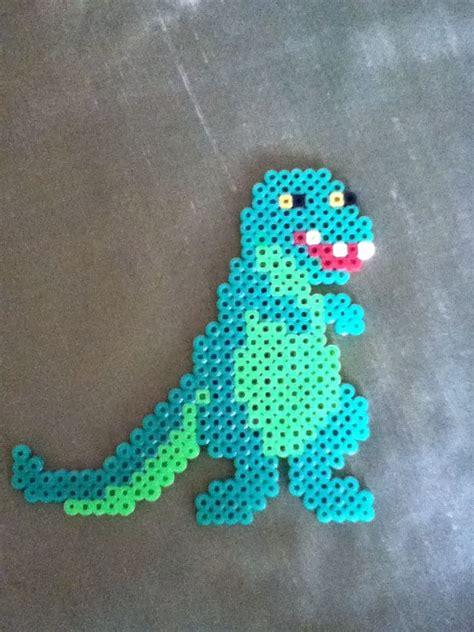 perler dinosaur perler bead dinosaur by alex hama