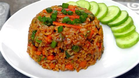 indonesian nasi goreng fried rice vegan vegetarian