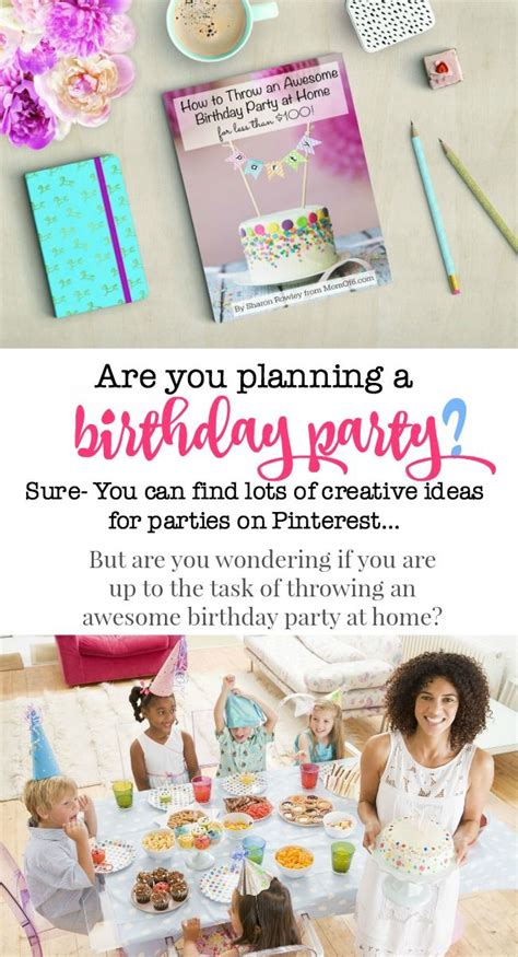 planning birthday at home house design plans