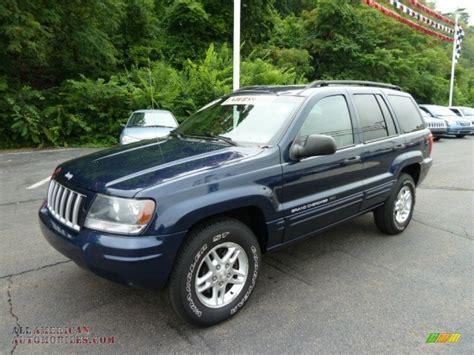 blue jeep grand 2004 2004 jeep grand laredo 4x4 in midnight blue pearl