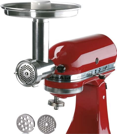 Jupiter Metal Food Grinder Attachment for KitchenAid Stand
