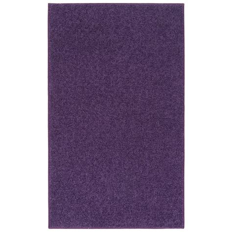 Nance Carpet And Rug Ourspace Bright Purple 5 Ft X 7 Ft Purple Rug