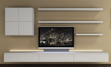 floating shelves search design tv
