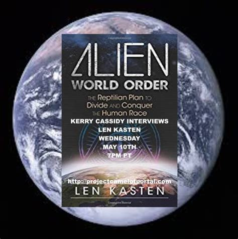 world order the reptilian plan to divide and conquer the human race books len kasten world order guest wed 7pm pt