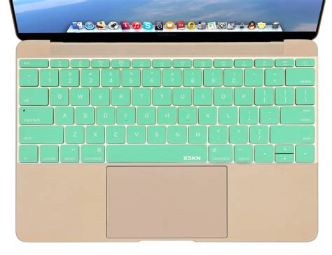 Keyboard Silicone Cover Protector Skin Macbook 12 Inch New Macbook xskn mint green silicone notebook keyboard protector cover skin for macbook 12 inch
