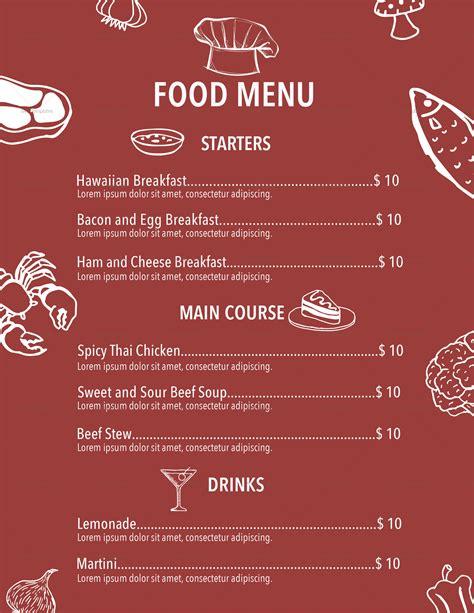vertical menu template vertical sketch restaurant menu design template in psd