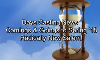 day of our lives coming and going days of our lives spoilers radical change in salem