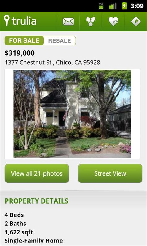 trulia real estate homes android market