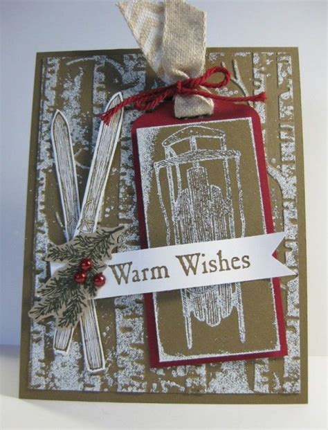 Handmade Card Ideas Stin Up - 17 best images about winter wishes stin up on