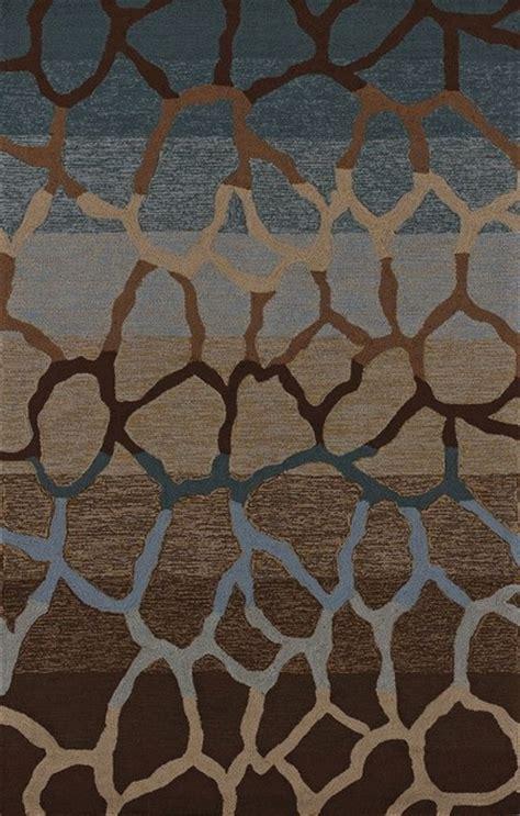 Contemporary Area Rugs Contemporary Terrace 9 X13 Rectangle Multi Color Area Rug