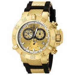 5517 subaqua noma iii 18kt gold plated swiss chronograph pulsodeluxo