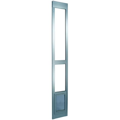 Patio Pet Door Company Pet Modular Patio Panel Pet Door In Mill Petco