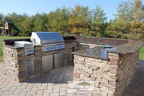 Affordable Kitchen Backsplash by Custom Built Outdoor Kitchens 2012 Huge U Shape Kitchen