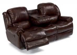 flexsteel leather power reclining sofa 1311 62p