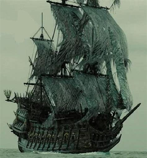ghost ship the mysterious flying dutchman