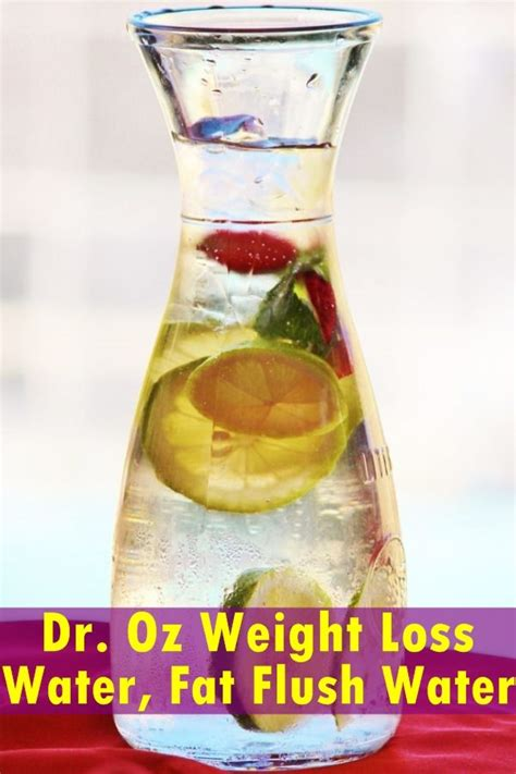 Dr Oz Detox Infused Water by 17 Best Ideas About Flush Water On