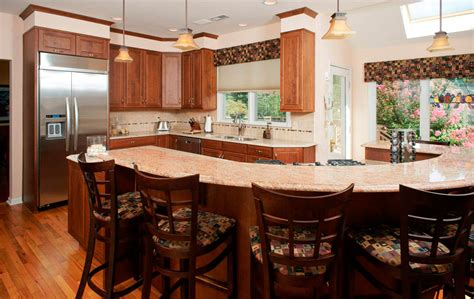 curved countertop transitional kitchen with curved countertop morris black