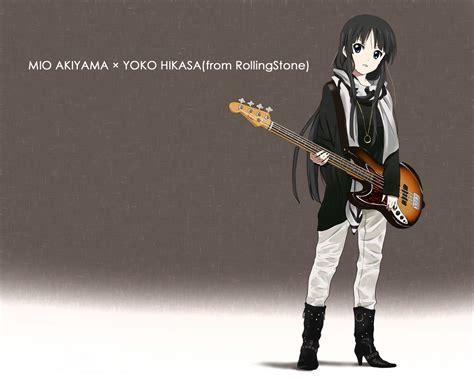 Terlaris High Heels Glitar Silver akiyama mio 250103 zerochan