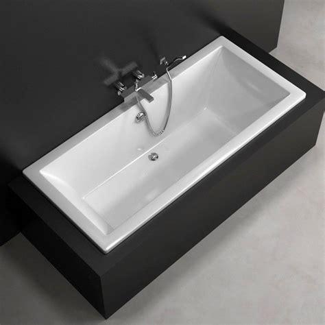 baignoire encastrable baignoire rectangulaire 180x80 cm acrylique olu