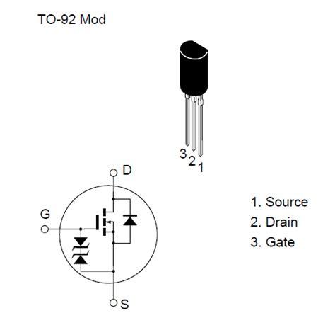 transistor fet k117 2sk975 k975 mosfet n channel 60v 1 5a 0 9w 0 4 ohm to 92l al hekma electronics