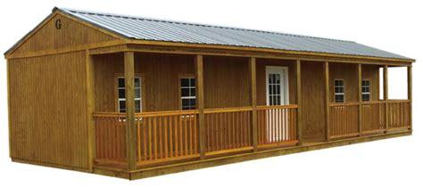 porch cabin texas portable storage buildings waco