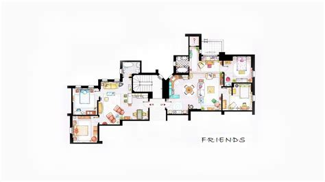 friends floor plan friends floor plans wallpaper 2833