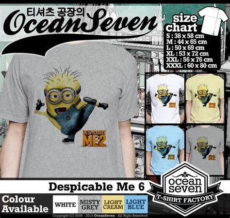 Kaos Despicable Me Logo 2 Cr 15 best despicable me images on