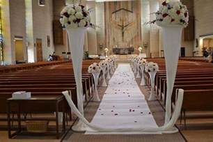 Simple Home Wedding Decoration Ideas by Simple Church Decorations For Wedding