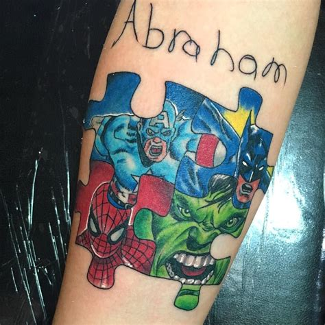 honor tattoo designs 35 wonderful autism ideas showing awareness and