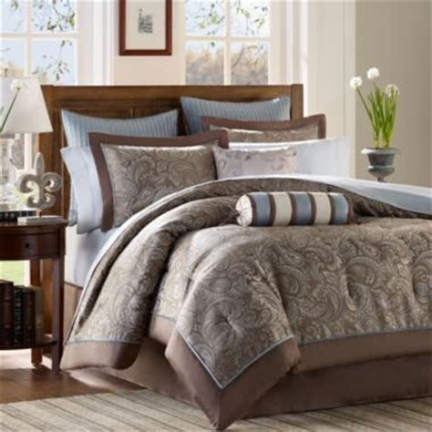 madison park aubrey jacquard comforter set whitman 12 pc jacquard comforter set jcpenney home
