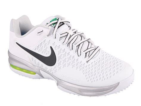 nike womens air max cage grass court tennis shoes white