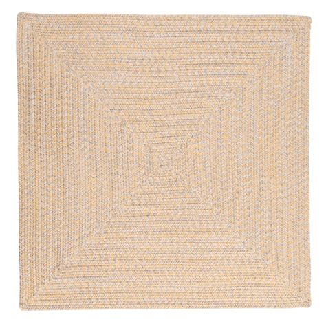 8 ft braided rugs home decorators collection marilyn tweed sunflower 8 ft x 8 ft square braided rug