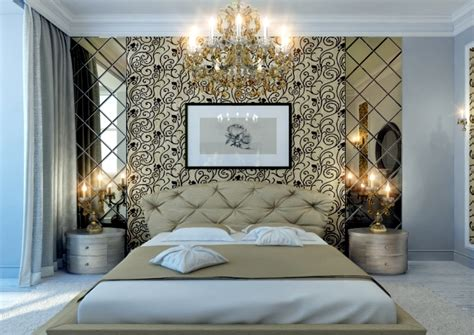 Unusual Wall Murals 20 ideas for attractive wall design behind the bed in the