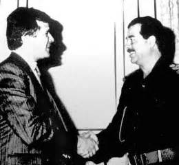 Bush administrations gave chemicals and weapons to saddam hussein