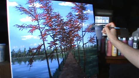 pintar cuadros con pintura acrilica pintar paisaje de oto 241 o completo leccion de pintura