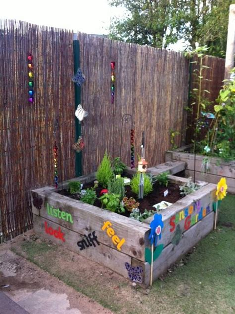Preschool Garden Ideas 25 Best Ideas About Sensory Garden On Outdoor Classroom Playground Ideas And