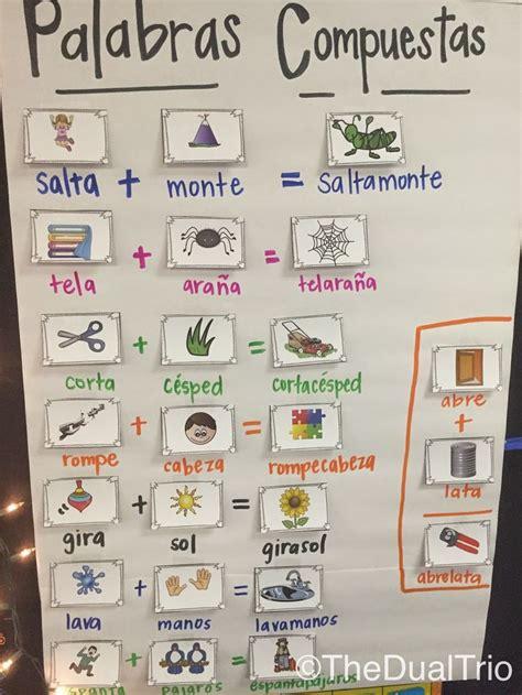 palabras compuestas para ninos en espanol m 225 s de 25 ideas fant 225 sticas sobre palabras compuestas en