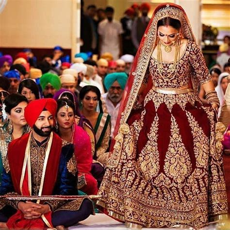 Punjabi Weddings by A Look At A Sikh Wedding Ceremony Features Top Stories