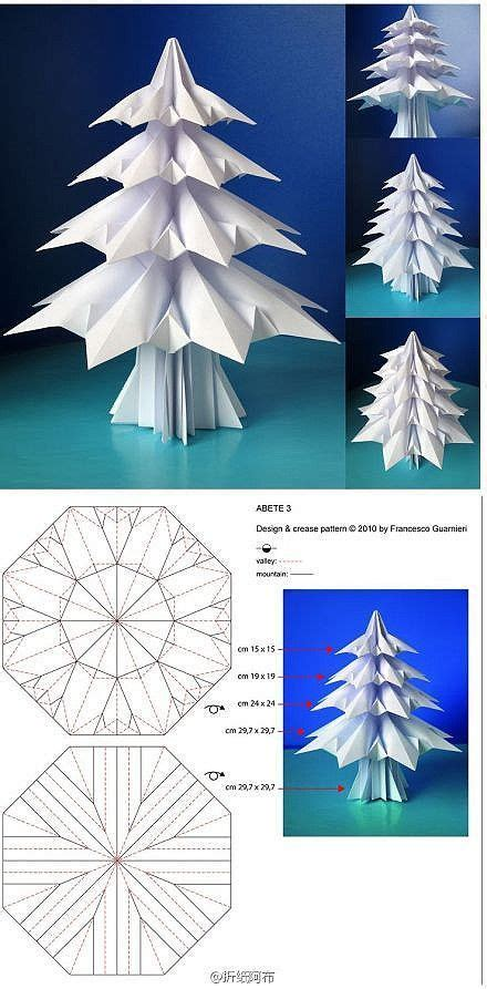 Origami Pine Tree - most inspiring pictures and photos pixfm origami