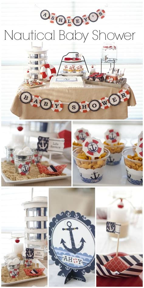 nautical themed baby shower decorations best 25 anchor baby showers ideas on nautical
