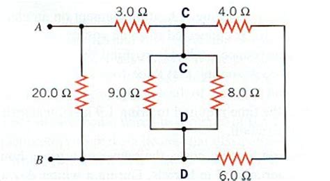 problems in resistors in series and parallel series parallel circiuts