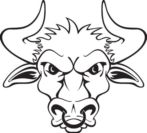 bull clip art at clker com vector clip art online