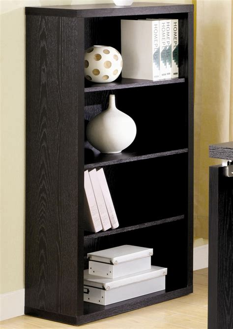 bookcases ideas top brand small black bookcase rustic