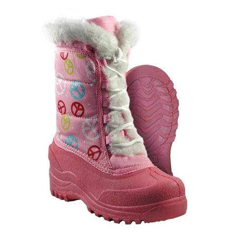pink winter boots itasca youth s pink peace winter boots