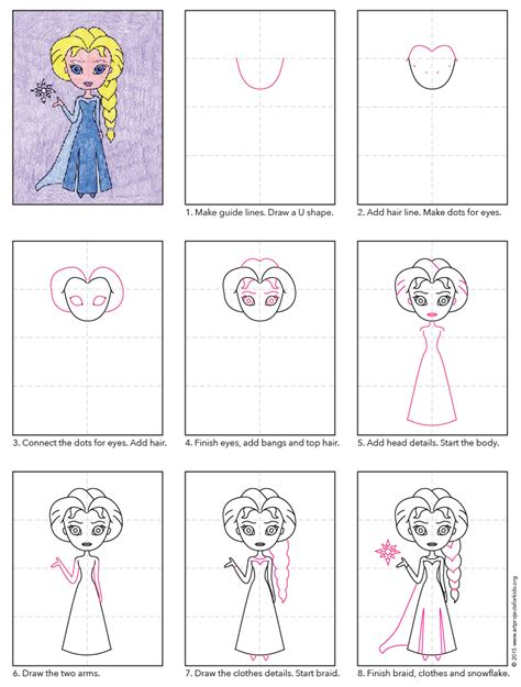 doodle draw how to draw elsa draw elsa elsa tutorials and drawings