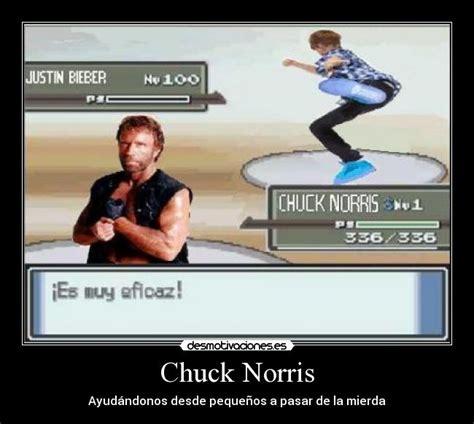 Chuck Norris Pokemon Memes - usuario alvaro21 desmotivaciones