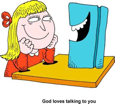 talk books image happy bible talking to bible clip